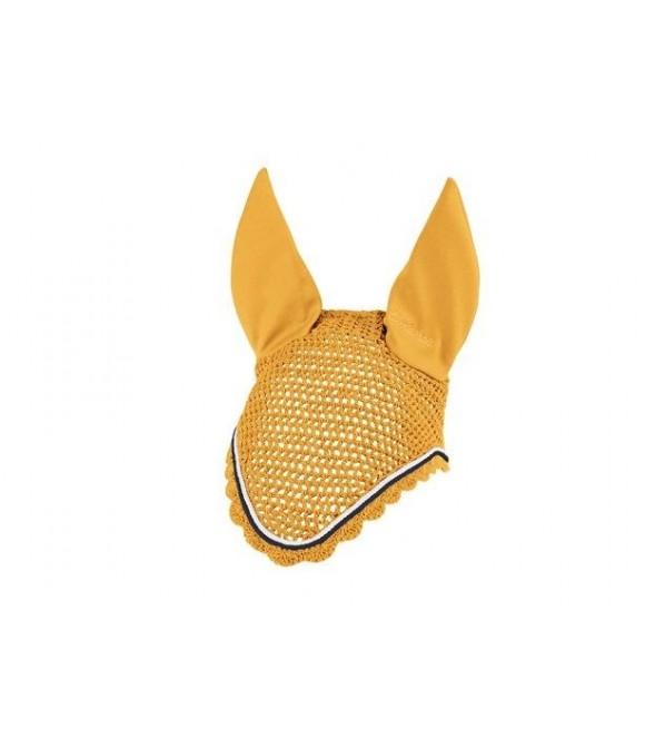 Bonnet anti-mouches Classic jaune mangue ESKADRON
