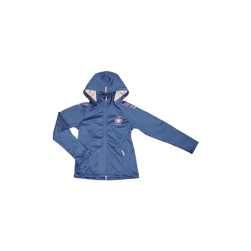 Veste d'équitation Softshell bleu COVALLIERO