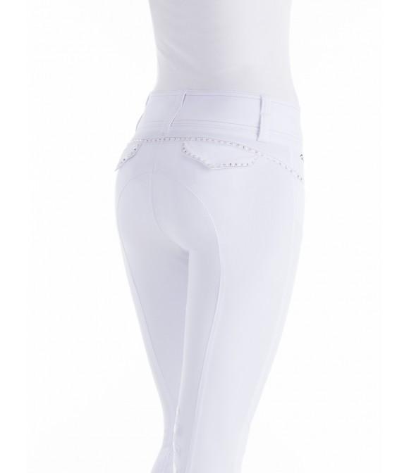online for sale buy best sports shoes Pantalon d'équitation taille haute blanc ANIMO: Meilleur Prix