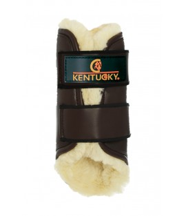 Guêtres Turnout cuir mouton KENTUCKY