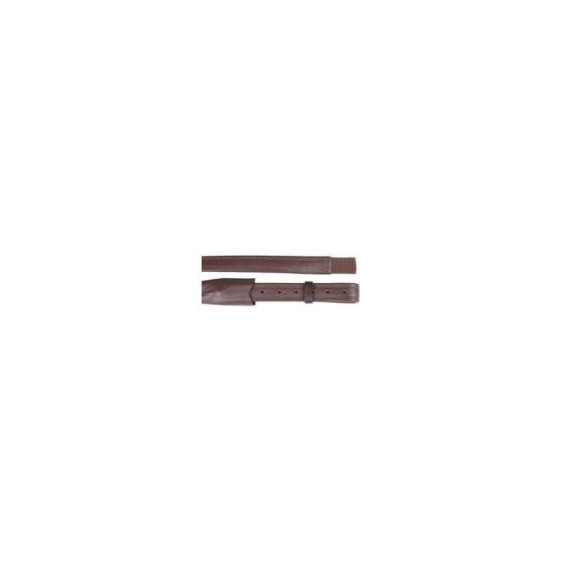 Etrivières cuir et nylon dressage HORKA