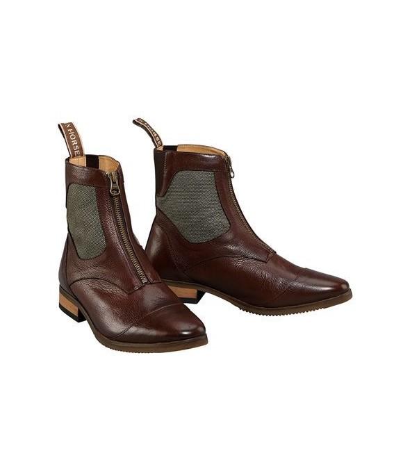 Boots d'équitation cuir marron MOUNTAIN HORSE