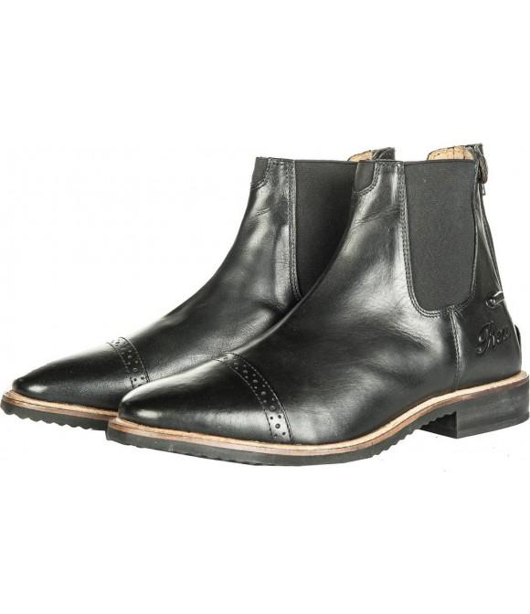 Boots d'équitation cuir noir HKM
