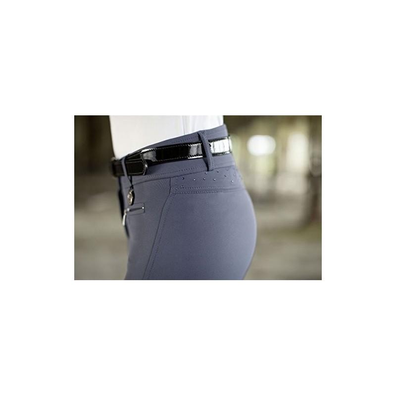 Pantalon d'équitation fond de peau CAVALLINO MARINO
