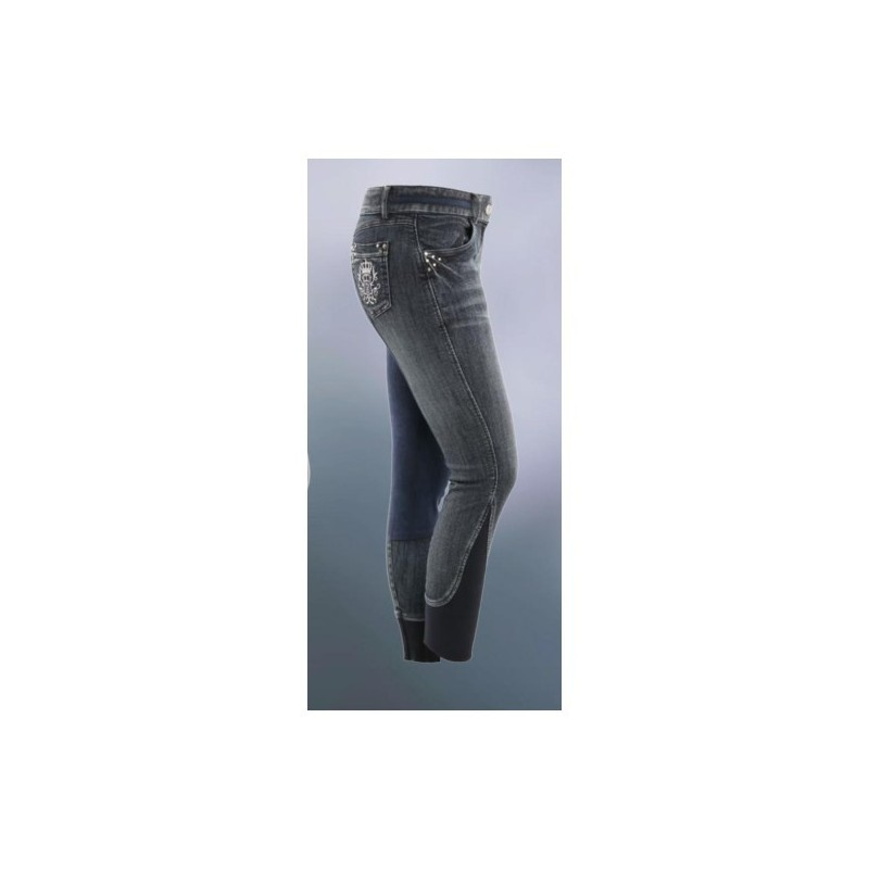 Pantalon d'équitation jean denim ESPERADO
