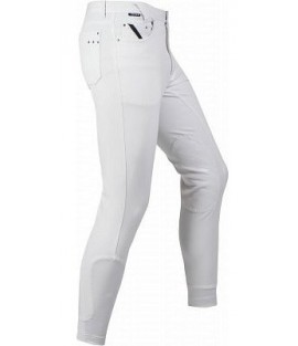 Pantalon d'équitation homme blanc Dublin HORKA