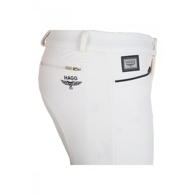Pantalon d'équitation blanc homme HAGG