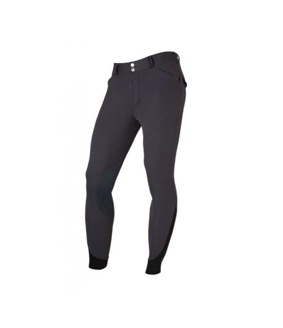 Pantalon d'équitation homme anthracite TRED STEP