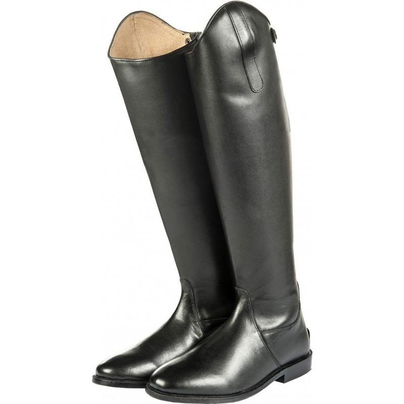 Bottes d'équitation cuir noir HKM