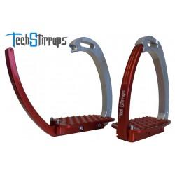 Etriers de sécurité aluminium TECH STIRRUPS