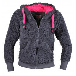Veste enfant polaire mouton Fluffy RED HORSE