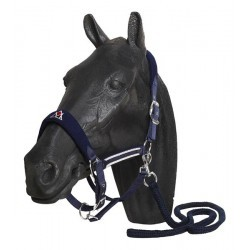 Licol avec longe marine MOUNTAIN HORSE Fancy