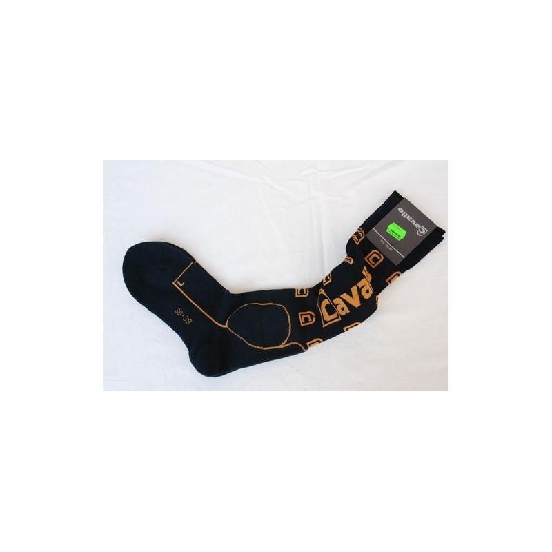 Chaussettes d'équitation CAVALLO Darkblue Goldensun