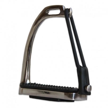Etriers de sécurité acier nickelé avec élastiques