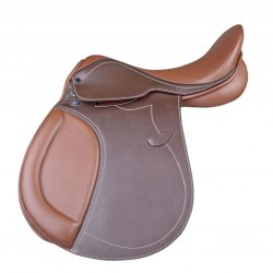 Selle d'obstacle marron Galaxy HKM