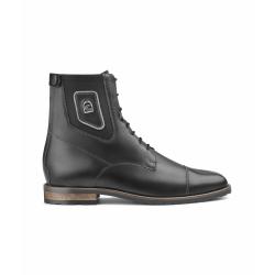 Boots d'équitation lacets noir CAVALLO