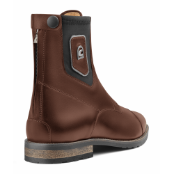 Boots d'équitation lacets marron CAVALLO