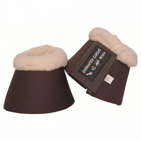 Cloches marron néoprène HKM Comfort