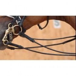 Rênes de bride cuir rond MOUNTAIN HORSE