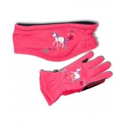 Gants d'équitation enfant ELT Unikorn
