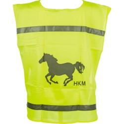Gilet de sécurité fluo HKM