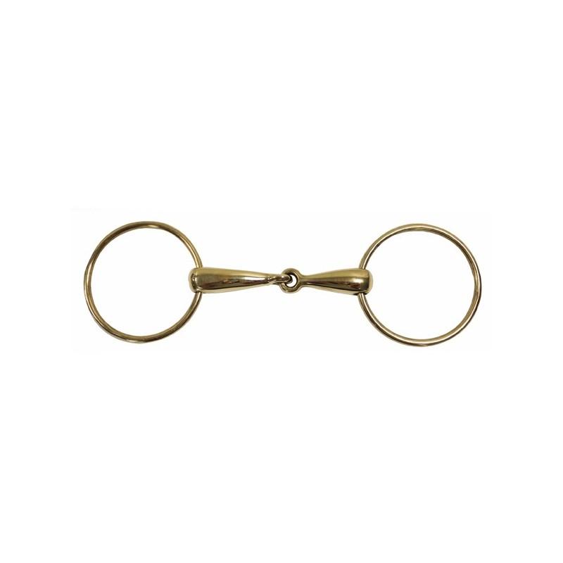 Filet 2 anneaux grands anneaux AXXEL Laiton