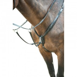 Bridon avec collier de chasse Croco HKM