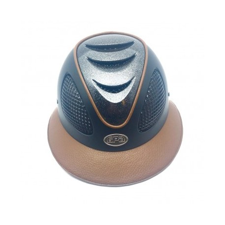 Casque d'équitation First Lady Leather GPA