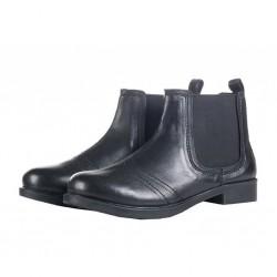 Boots Jodhpur en cuir pour...
