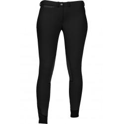 pantalon d'équitation enfant hiver noir