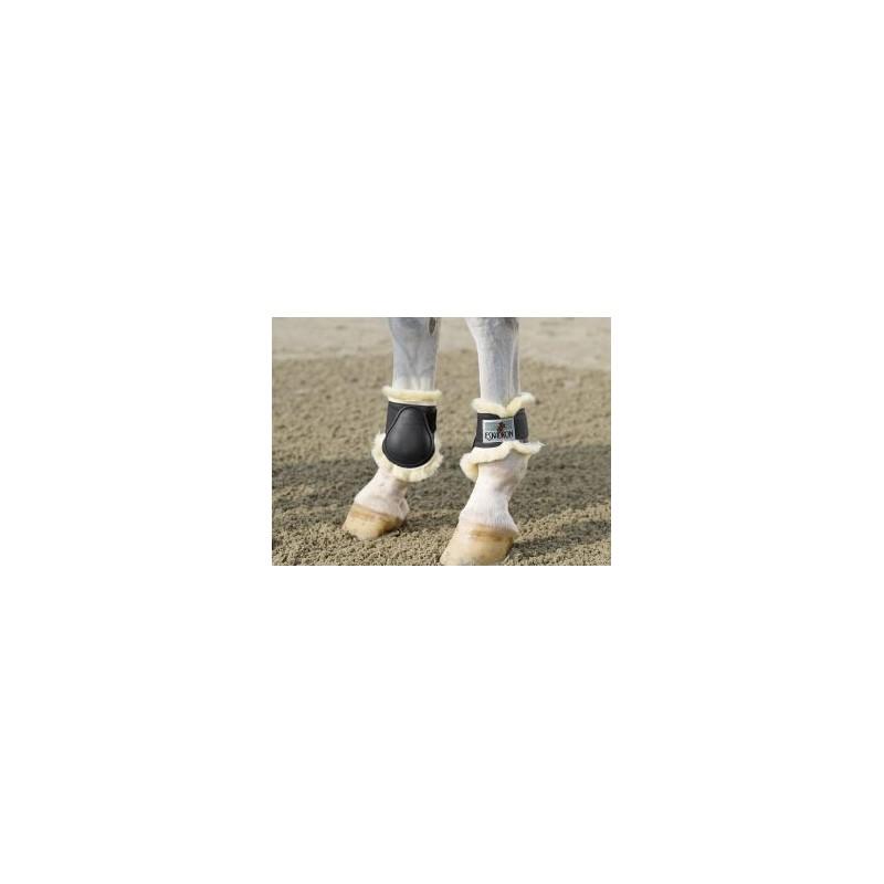 Protège boulets  fourrure d'agneau ESKADRON