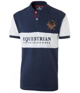Polo homme 100% coton MOUNTAIN HORSE