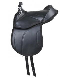 Selle poney shetty noir HKM