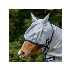 Masques et filets anti-mouches équitation