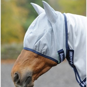 Bonnets et masques anti-mouches poney